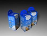 Упаковка вкладышей от пота