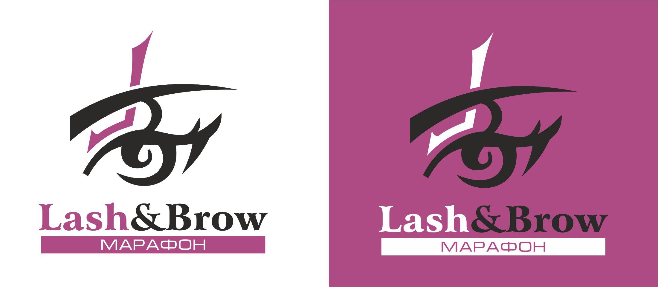 "Создание логотипа мероприятия ""Марафон Lash&Brow"" фото f_89158f9061def0f8.jpg"