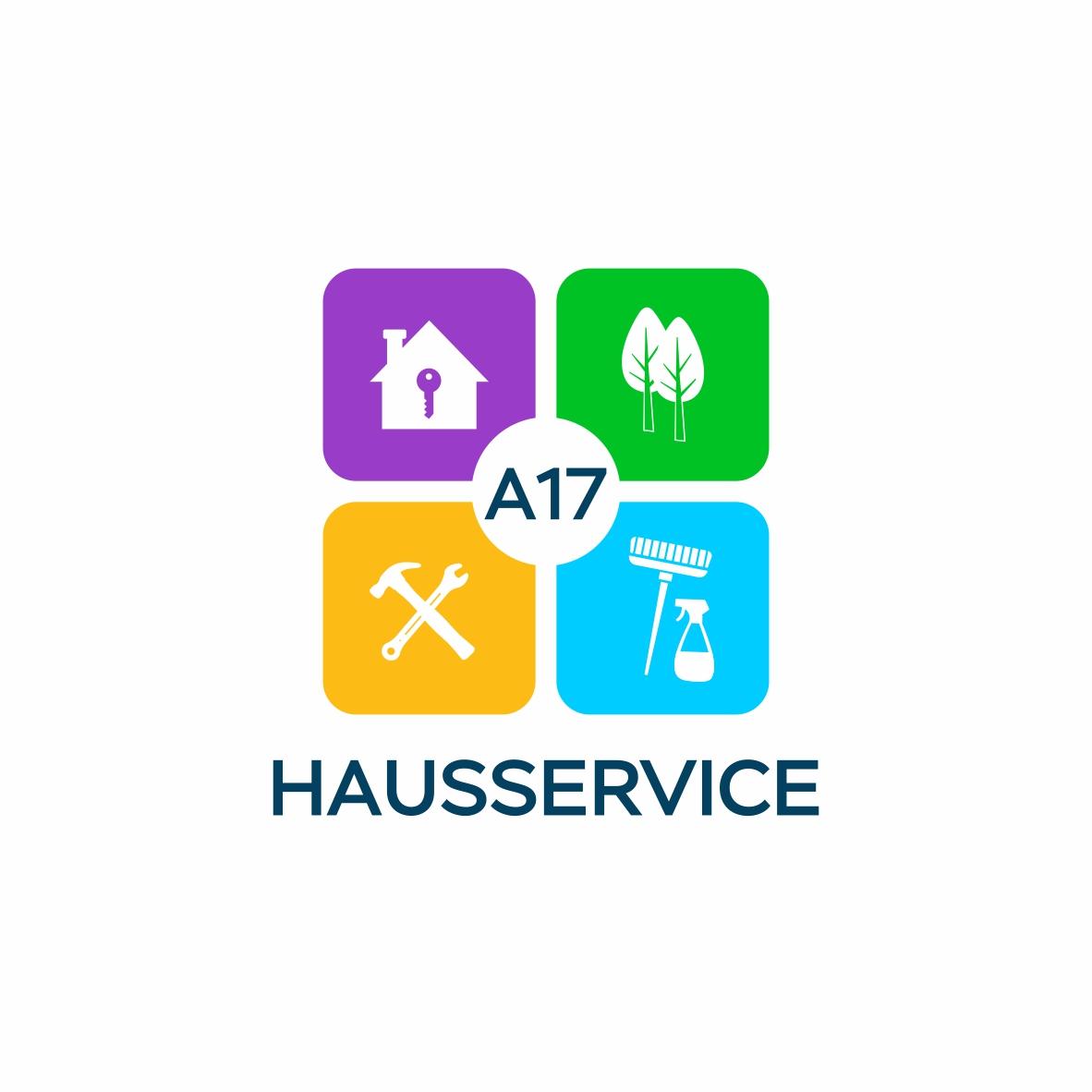 Разработка логотипа для A17 Hausservice
