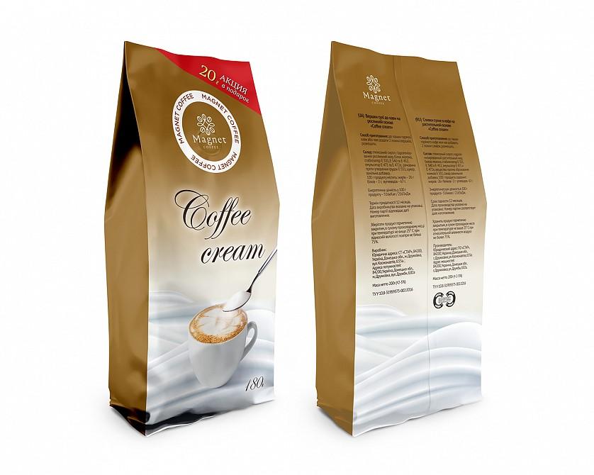 Разработка дизайна упаковки для кофе Magnet