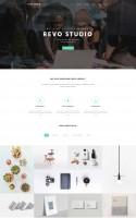 Дизайн + Верстка Revo studio [themeforest]