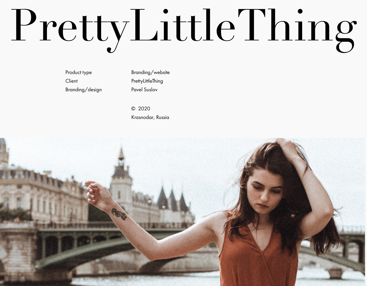 PrettyLittleThing - Redesign popular USA Shop