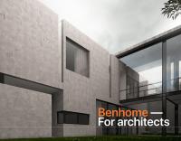 Benhome - Одностраничный сайт архитектурной компании