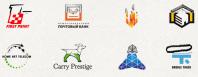 Лендинг с паралаксом js (Сайт дизайн логотипов)