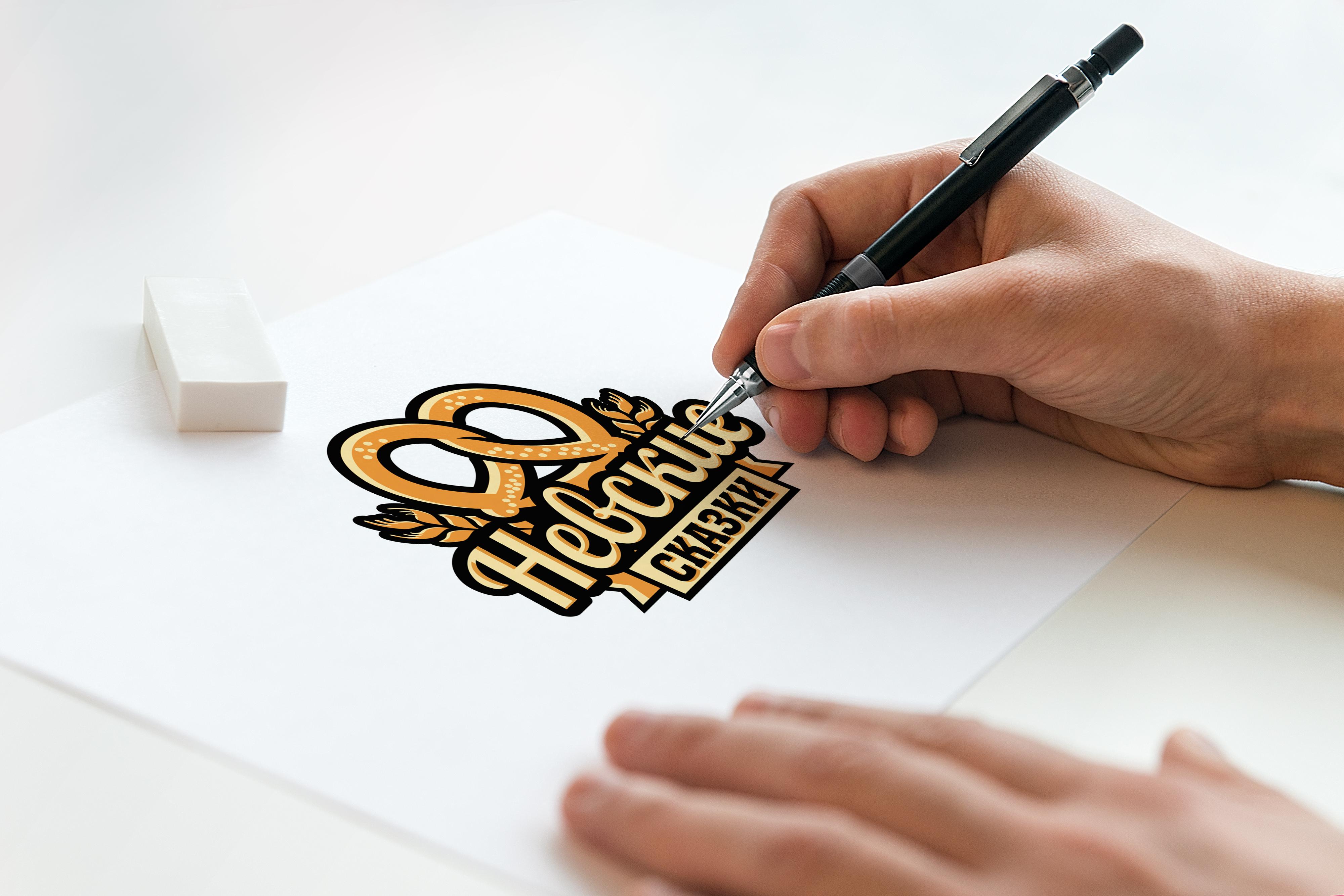 """Разработка логотипа для для хлебобулочной компании """"Невские Сказки"""""""