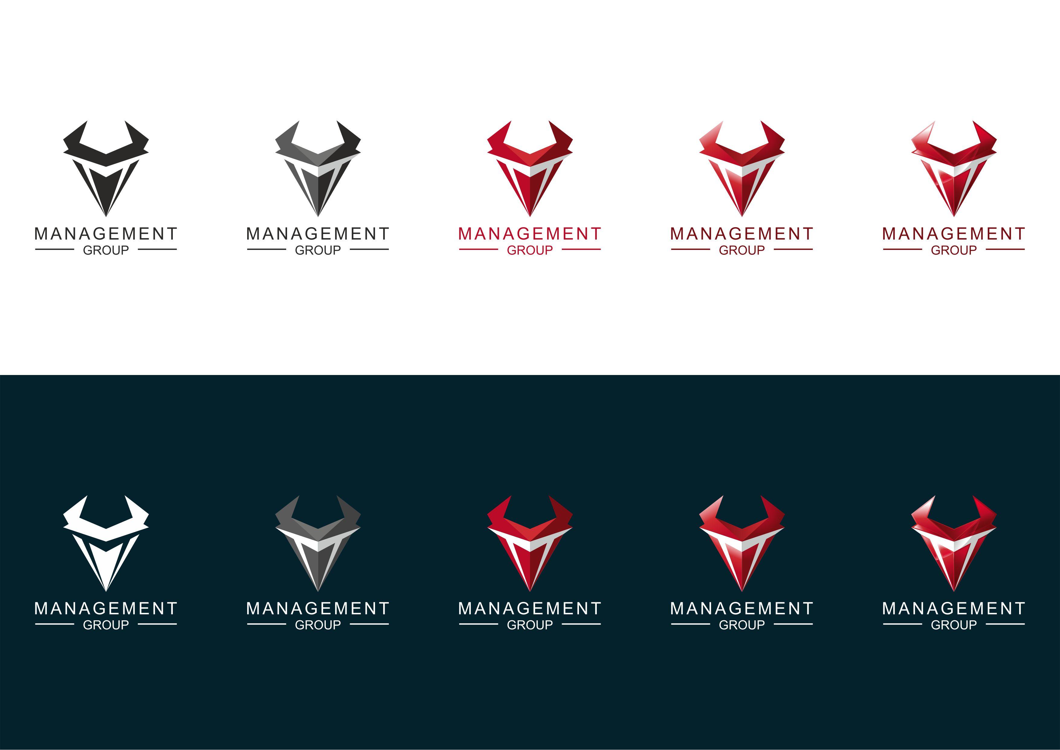 """Разработка логотипа для """"MANAGEMENT GROUP"""""""