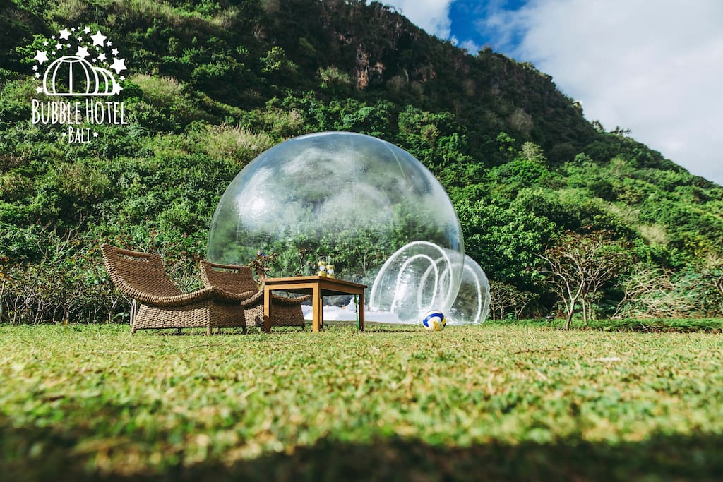 "Разработка логотипа для отеля ""Bubble Hotel Bali"""