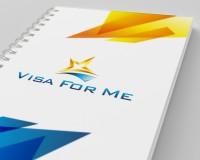 """блокнот """"Visa For Me"""""""