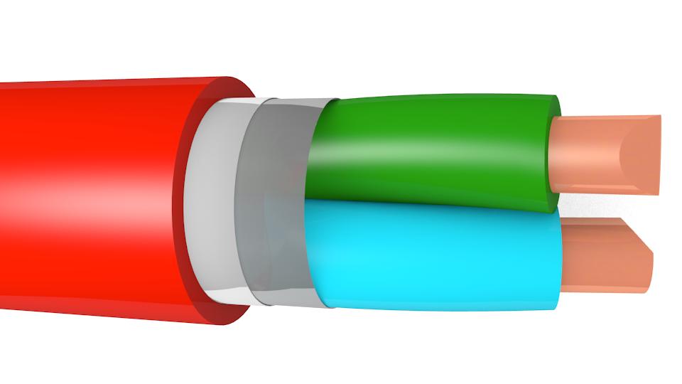 3D модель кабеля