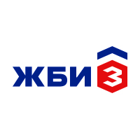 Логотип Завод ЖБИ-3. Победа в конкурсе. 1-е место