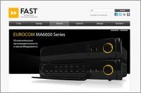 Дизайн сайта FAST