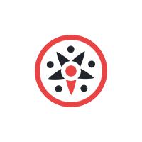 Логотип Маша на байке