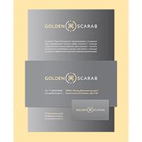 Фирменный стиль «GOLDEN SCARAB»