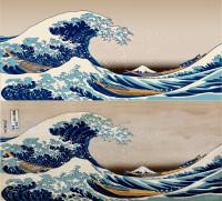 Море, отрисовка с растра
