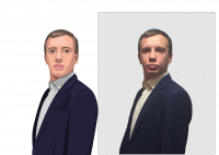 Портрет в векторе по фото