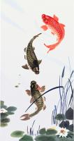 Рыбы, отрисовка в векторе