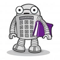 Робот-персонаж для сайта
