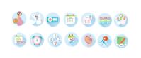 Иконки для сайта для будущих мам