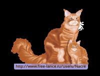 Кошки в векторе