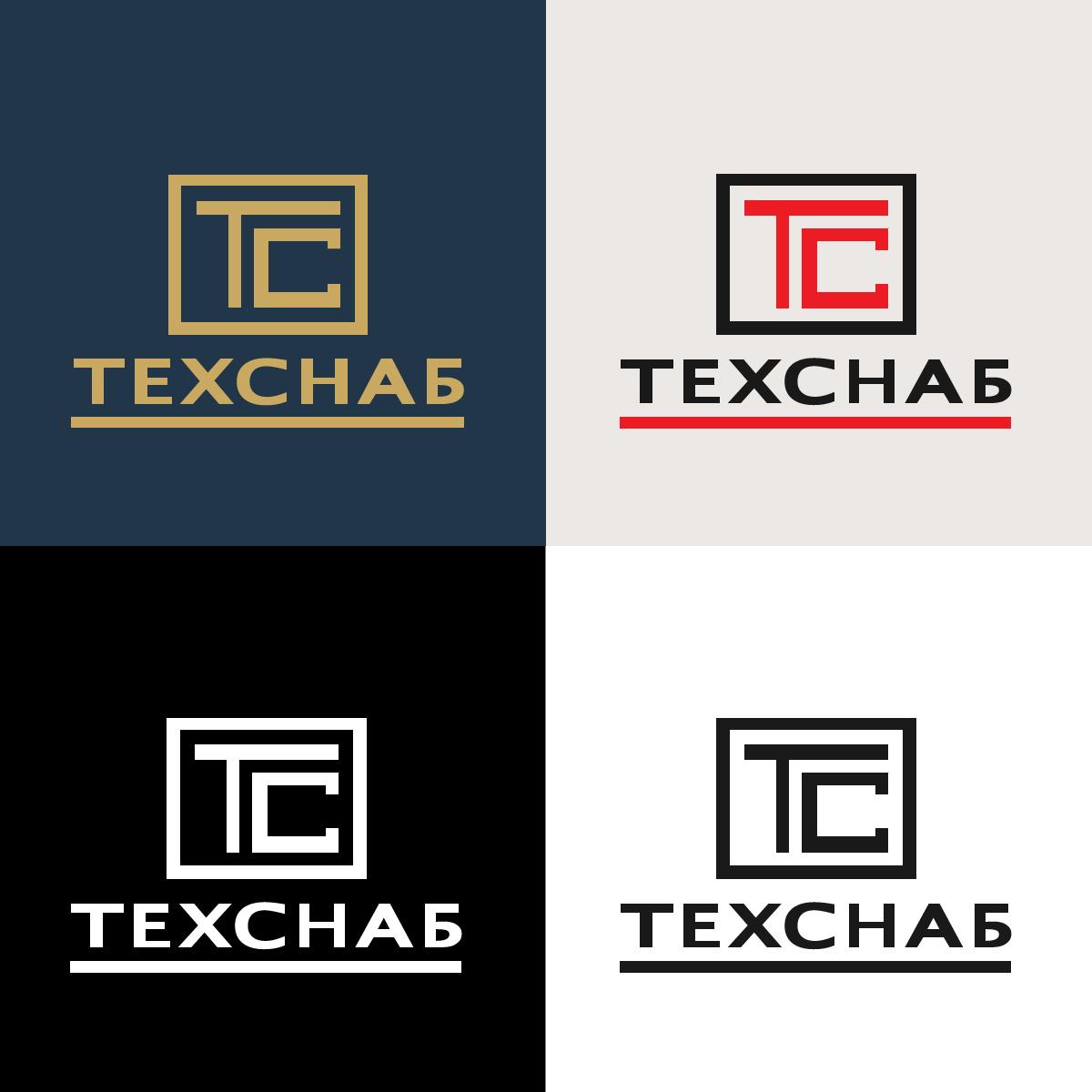 Разработка логотипа и фирм. стиля компании  ТЕХСНАБ фото f_7275b1cf1d4cf4ac.jpg