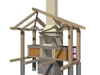 Разработка рабочих проектов мангалов и каминов