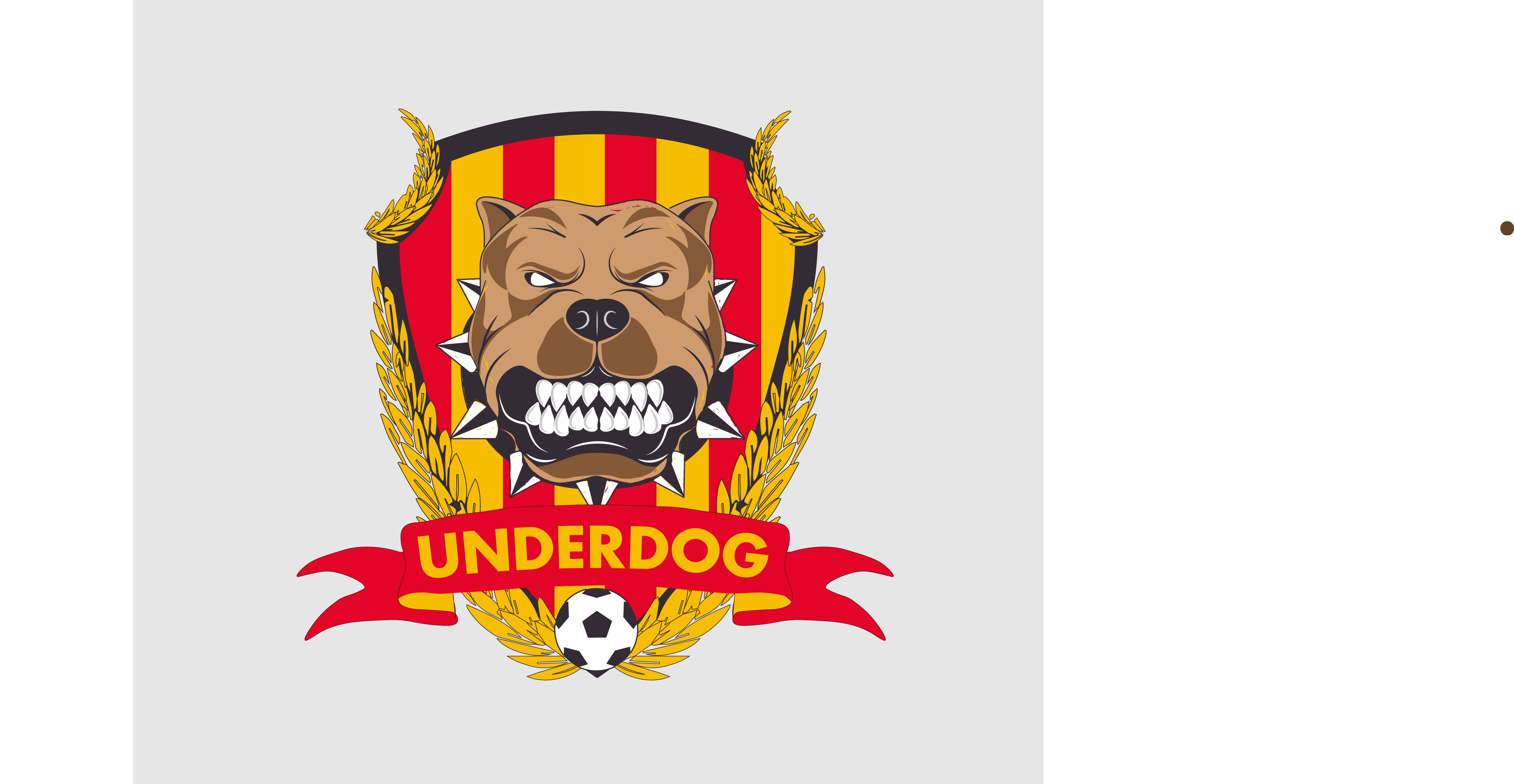 Футбольный клуб UNDERDOG - разработать фирстиль и бренд-бук фото f_5045cb3e32ea998c.png