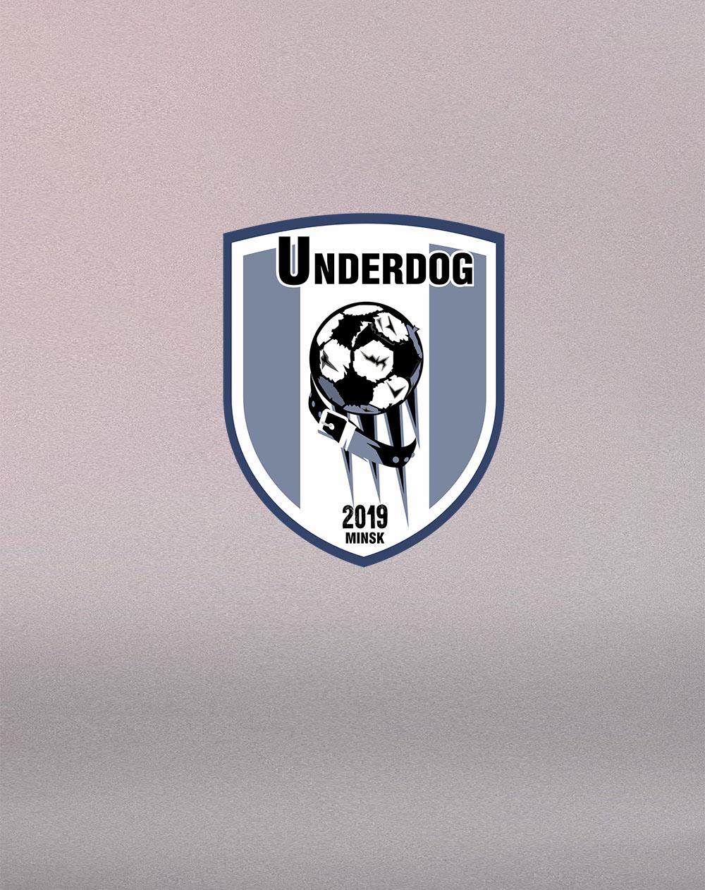 Футбольный клуб UNDERDOG - разработать фирстиль и бренд-бук фото f_3655cb0acdf0fea3.jpg