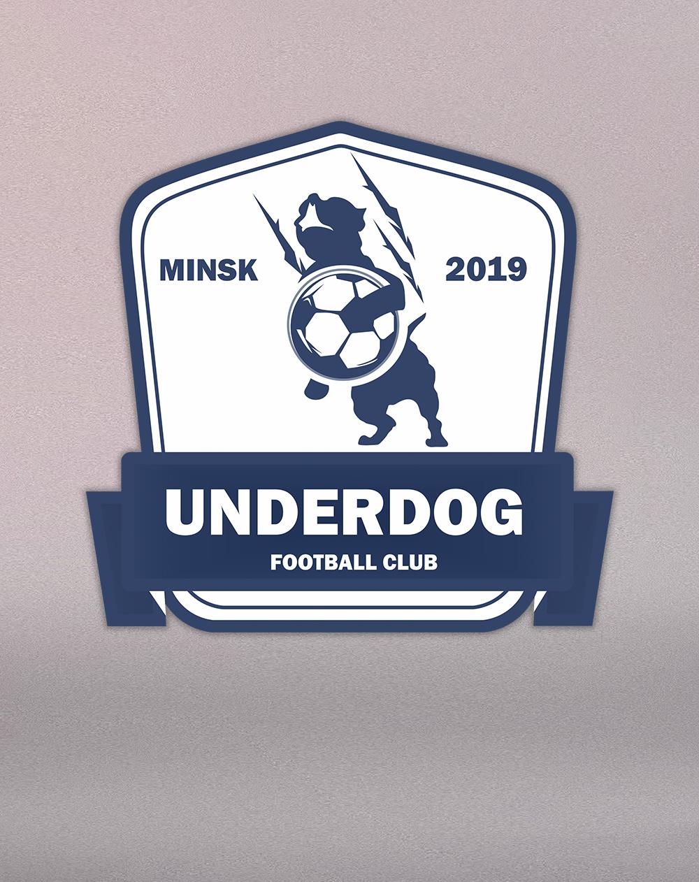 Футбольный клуб UNDERDOG - разработать фирстиль и бренд-бук фото f_3745cb33dbc50891.png