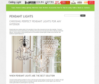 Choosing Perfect Pendant Lights for any Interior (SEO)