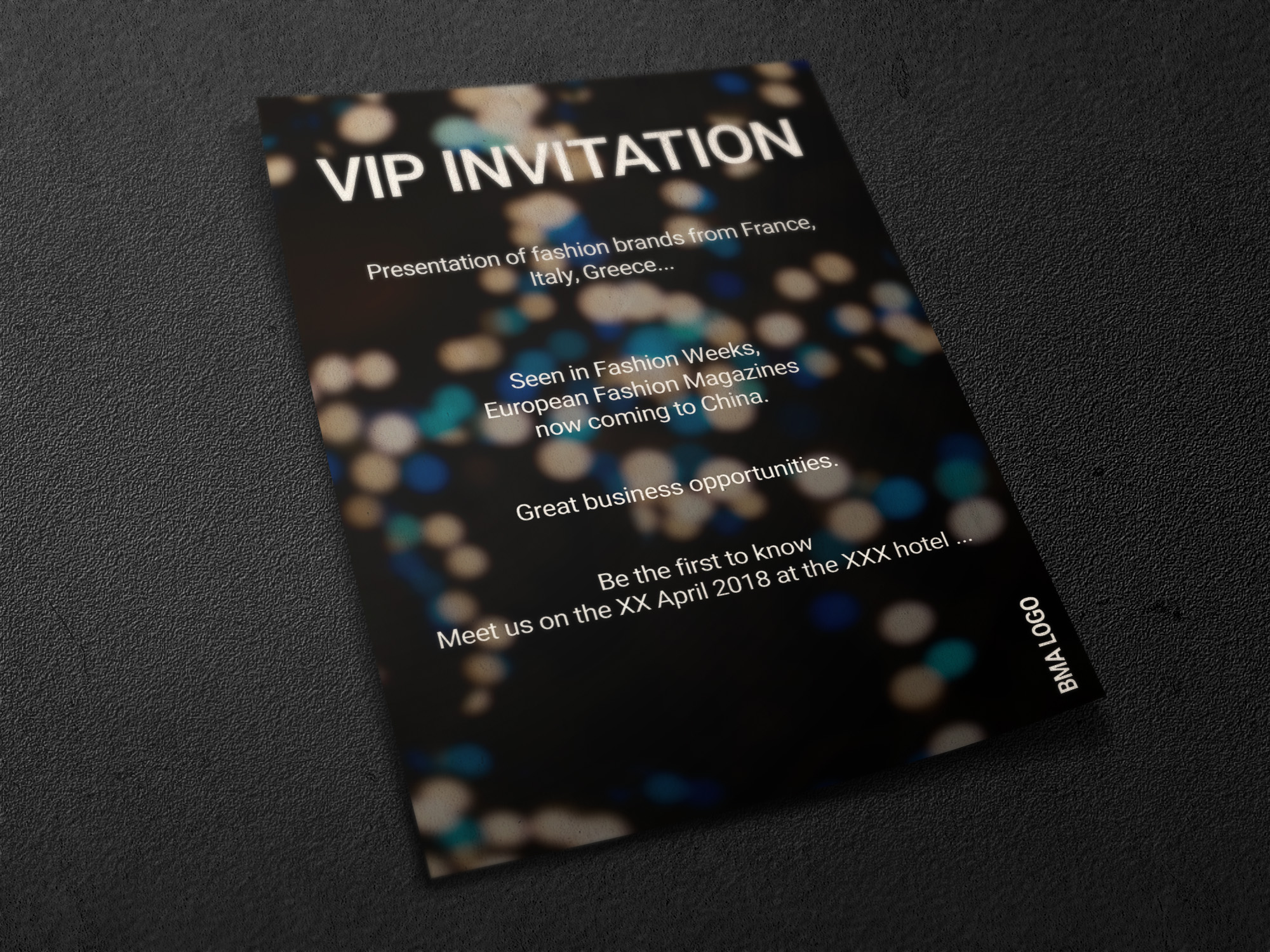 Флаер для модного мероприятия фото f_0785a65aca744cb7.jpg