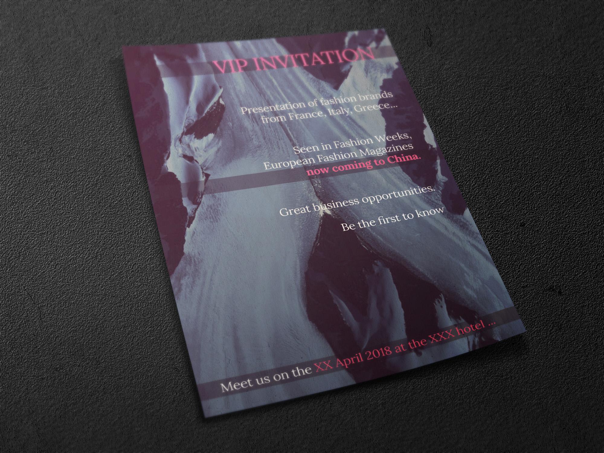 Флаер для модного мероприятия фото f_3005a65ac9f422d0.jpg