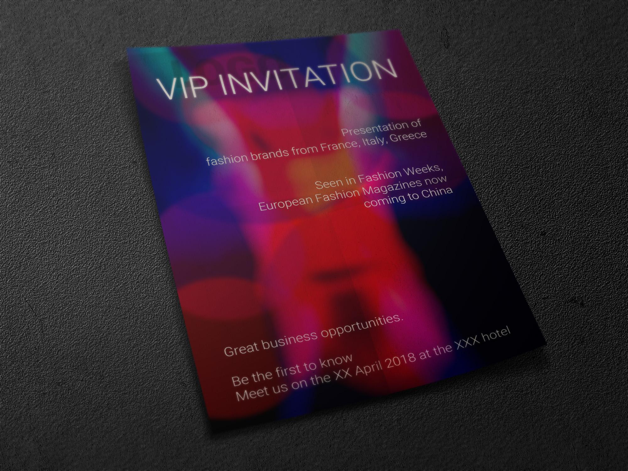 Флаер для модного мероприятия фото f_3565a65ac6677aa9.jpg