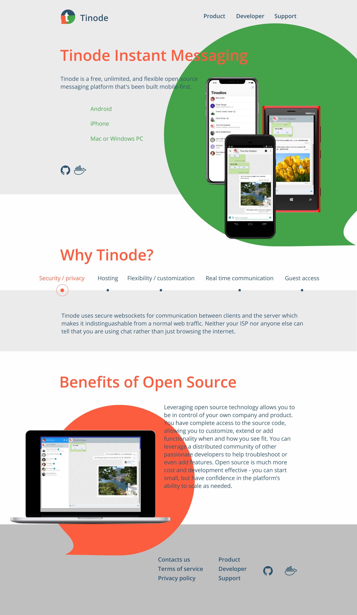 Дизайн сайта tinode.co фото f_6885d7016c4b2b0a.png