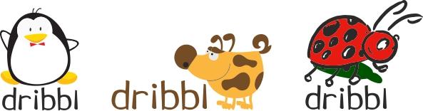 Разработка логотипа для сайта Dribbl.ru фото f_9455a9bd753074ba.jpg