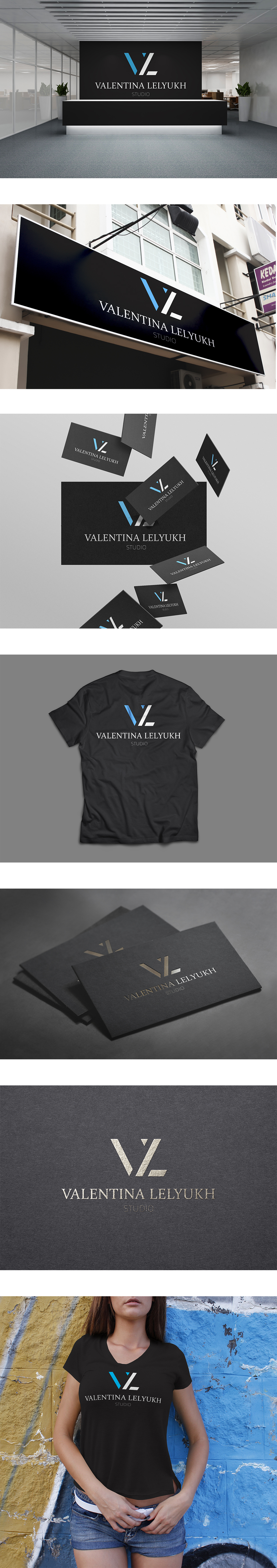 Разработка логотипа – Valentina Lelyukh Studio