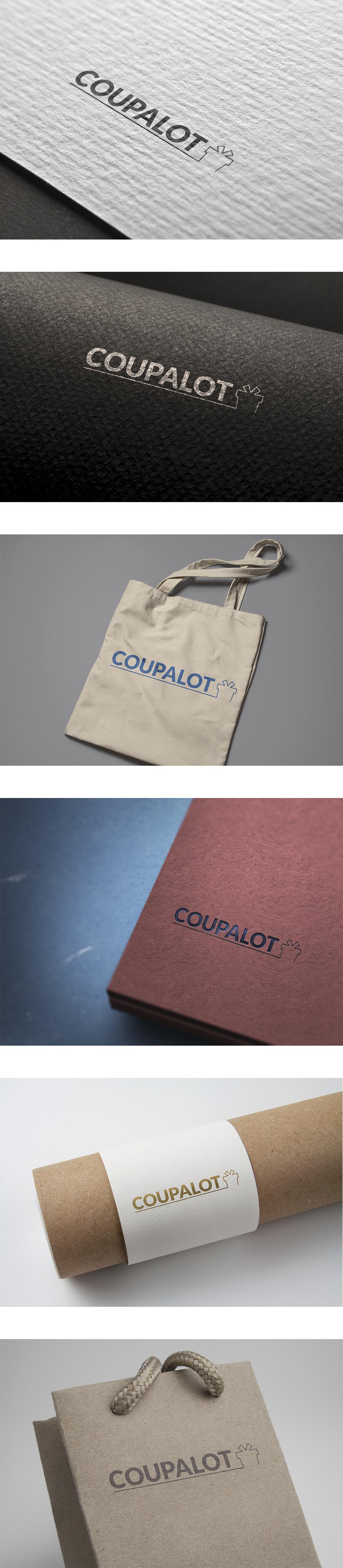 Разработка логотипа – COUPALOT