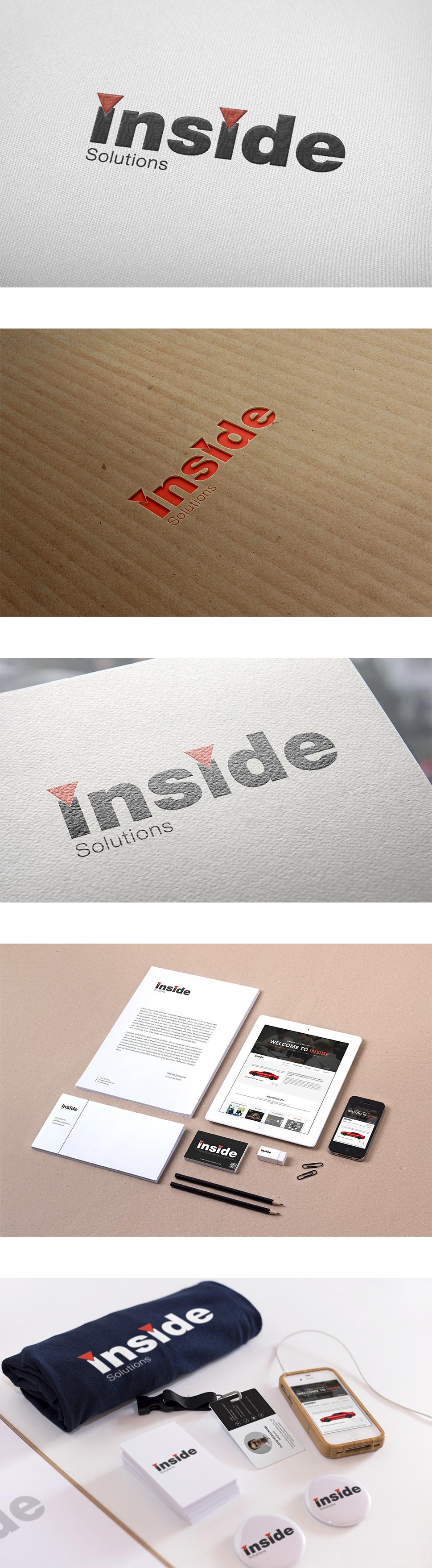 Разработка логотипа – Software development company INSIDE SOLUTIONS