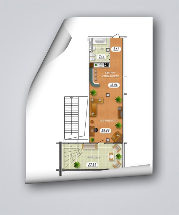 план в векторе 3