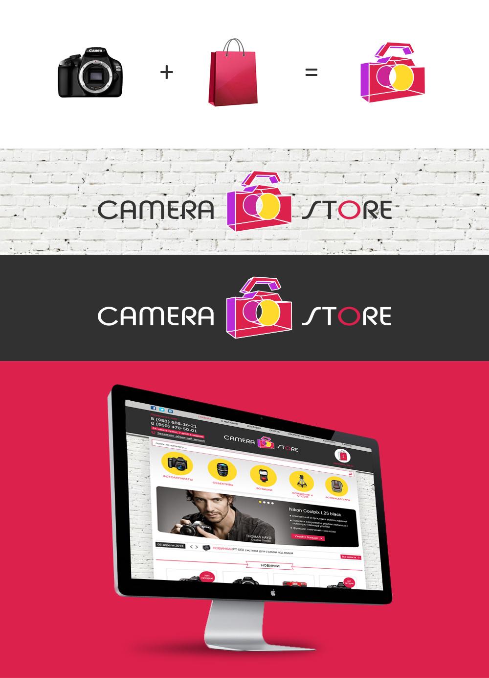 Логотип интернет-магазина фототехники