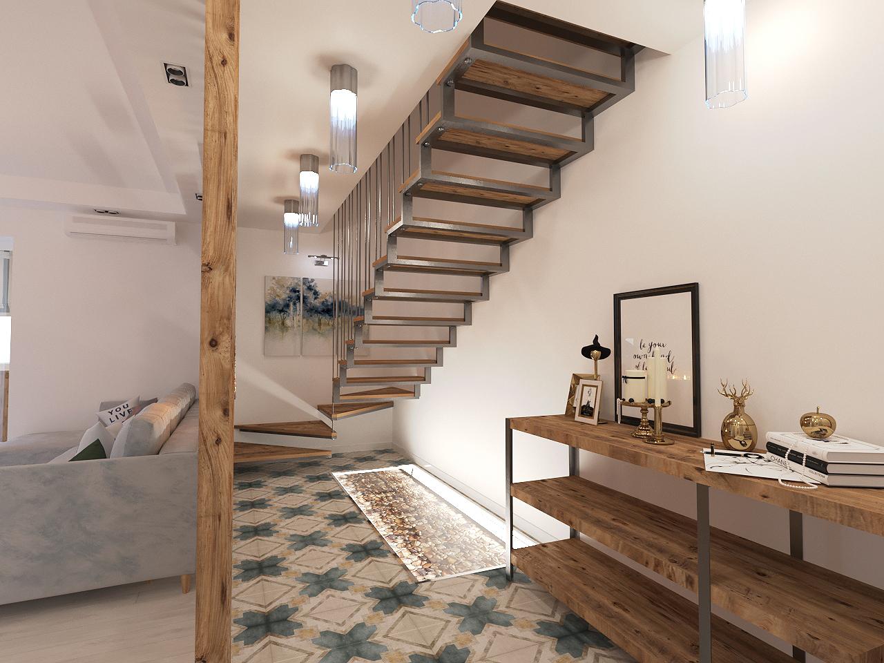 Дизайн проект интерьера первого уровня квартиры 69,9 м.кв. фото f_1345a857e1a54cfb.jpg