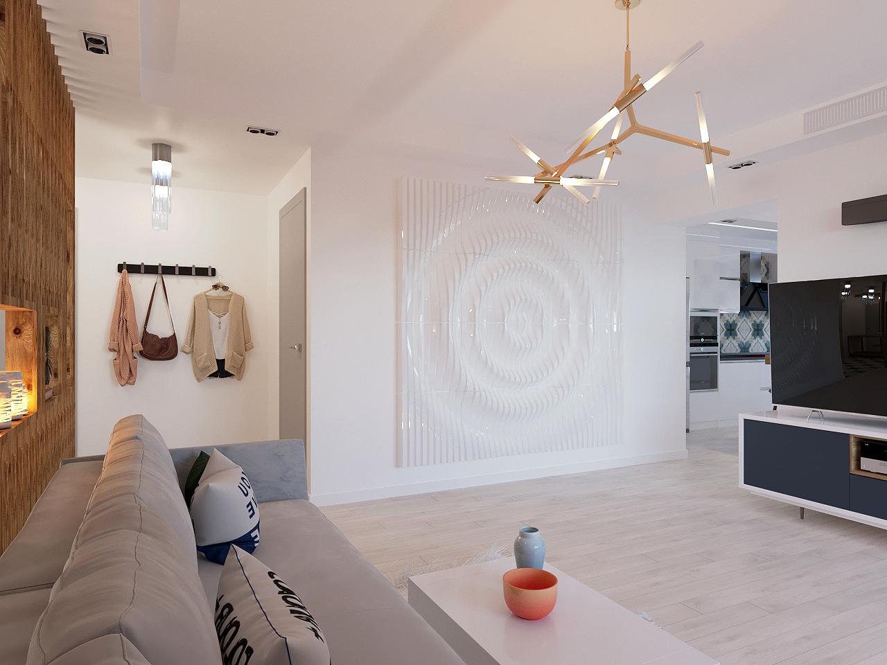 Дизайн проект интерьера первого уровня квартиры 69,9 м.кв. фото f_9145a857e6d87d0b.jpg