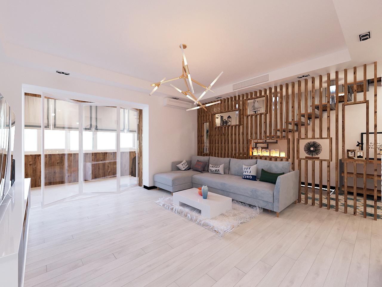 Дизайн проект интерьера первого уровня квартиры 69,9 м.кв. фото f_9395a853358eaa07.jpg