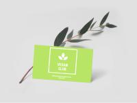 Логотип для Vegan Club