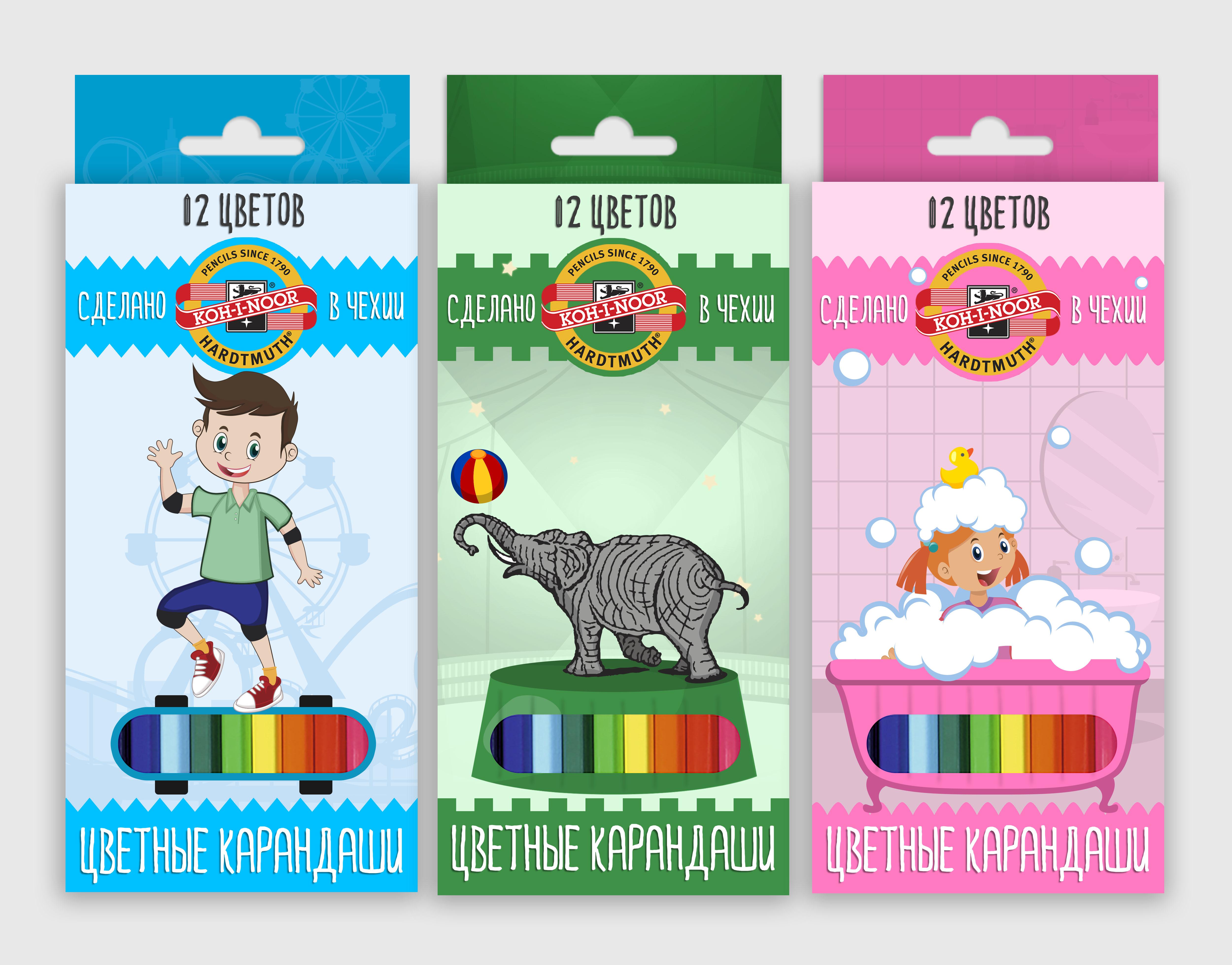 Разработка дизайна упаковки для чешского бренда KOH-I-NOOR фото f_13159f0871a45726.jpg