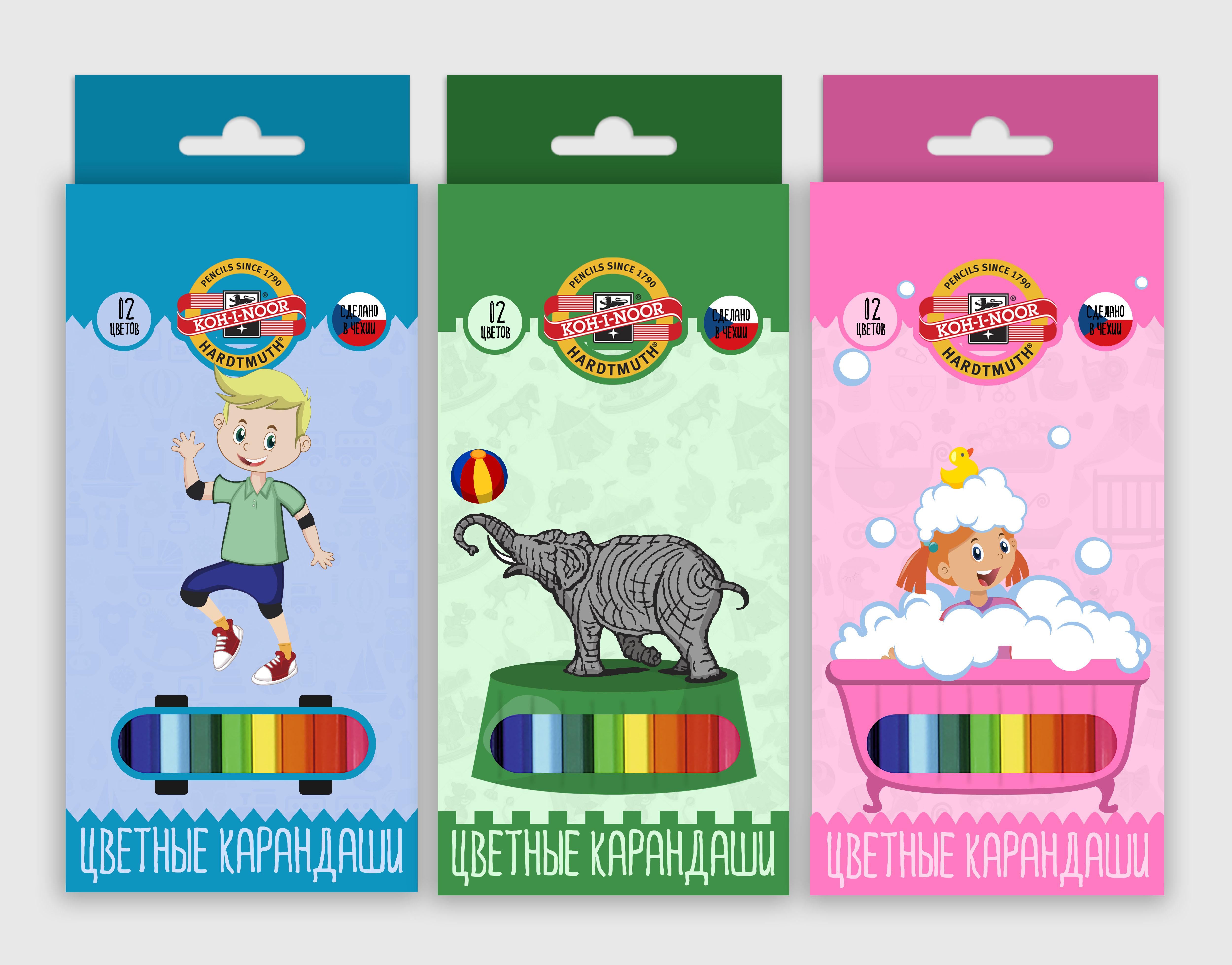 Разработка дизайна упаковки для чешского бренда KOH-I-NOOR фото f_14359ef1cc34b0d6.jpg