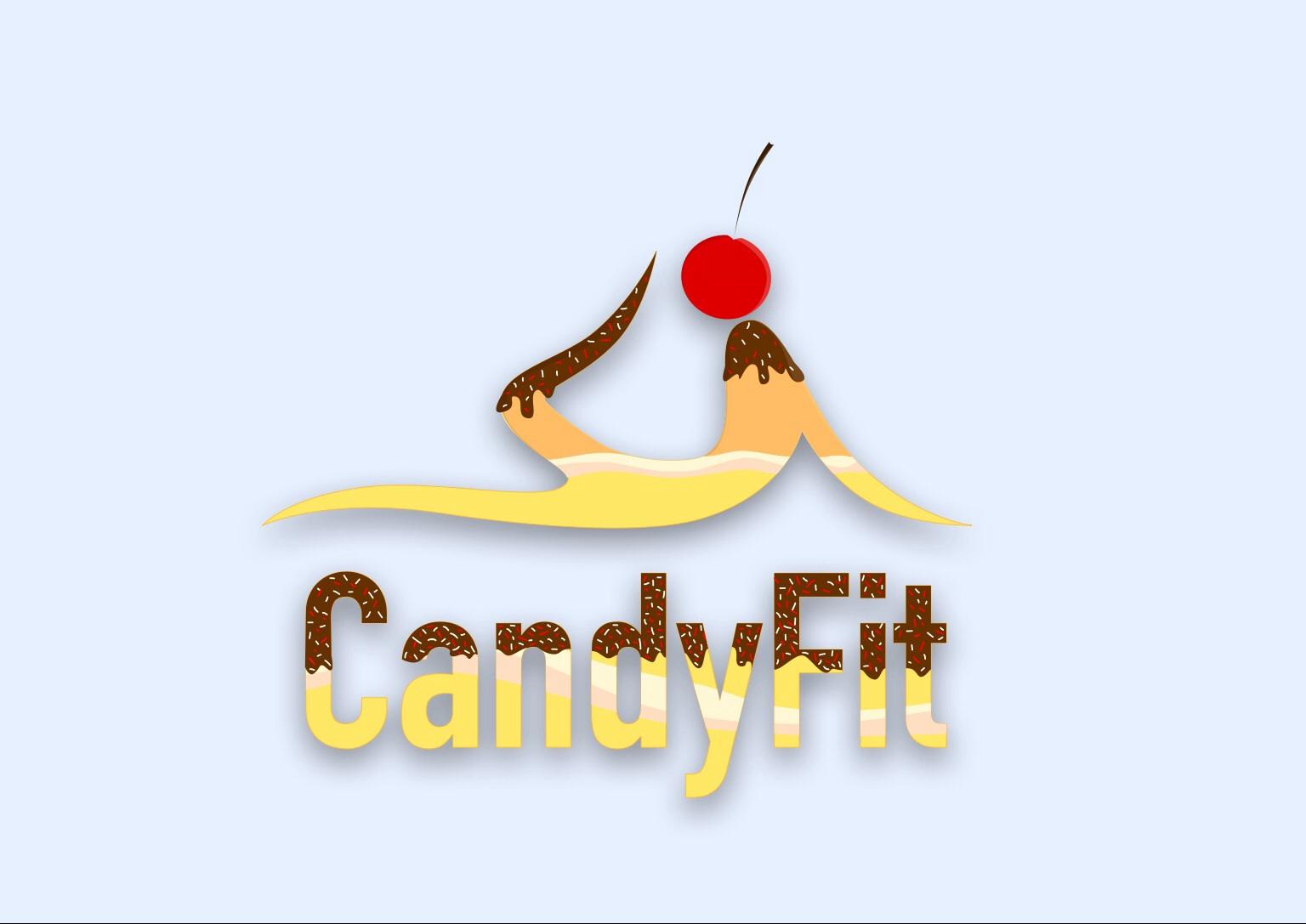 """Разработать логотип для """"CandyFit"""" фото f_51551e1e661165f1.jpg"""