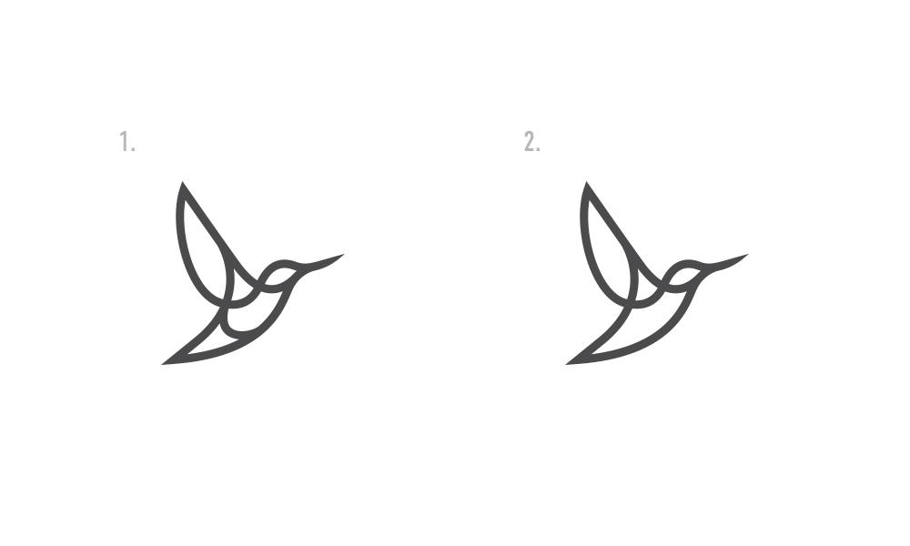Разработка логотипа в виде хэштега #easy с зеленой колибри  фото f_7575d51937c62983.jpg