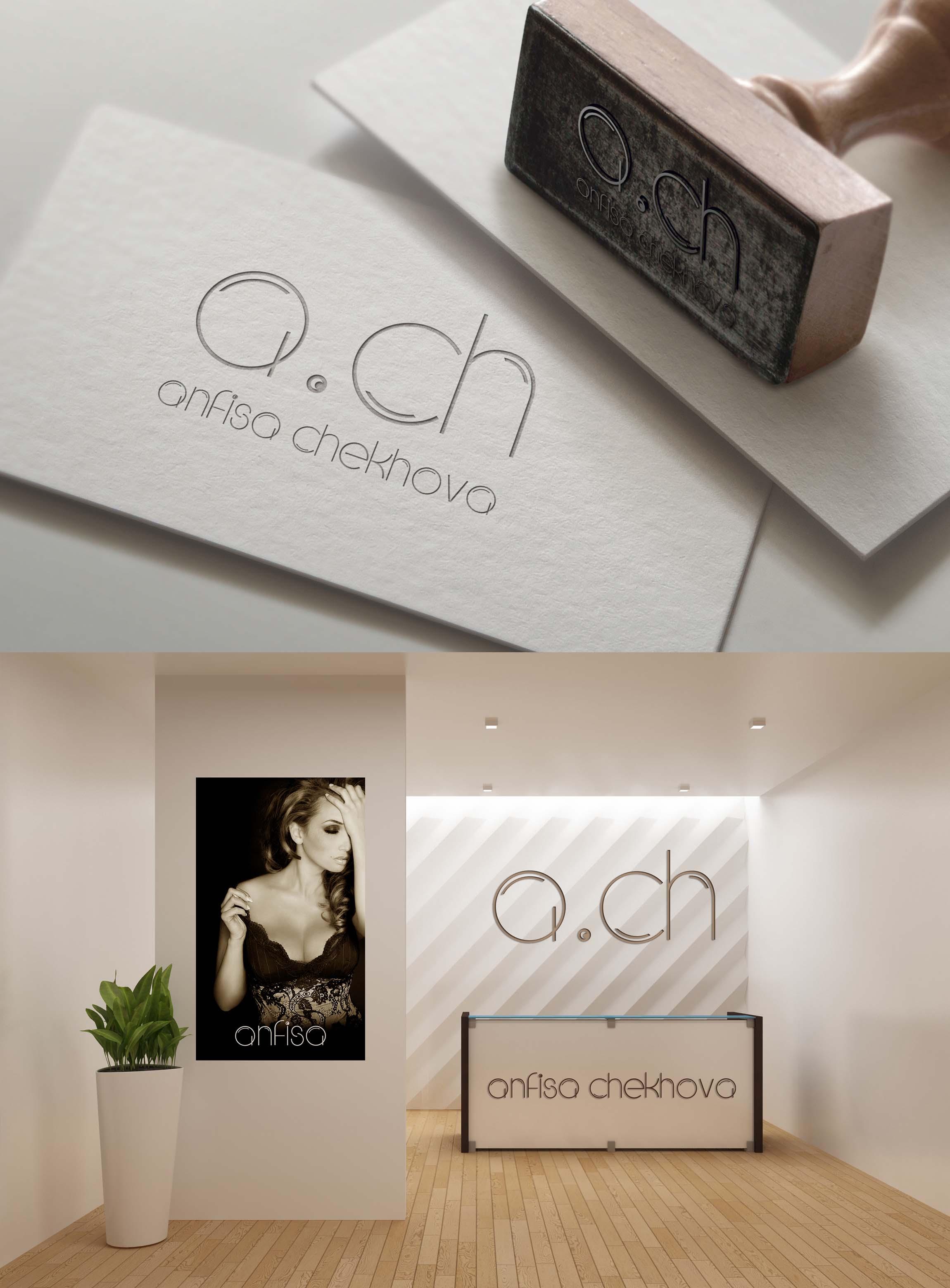 Разработка логотипа для Анфисы Чеховой