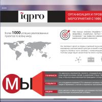 IQpro Промосайт