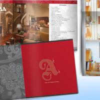 """Мебельный  каталог для компании """"Армада"""""""
